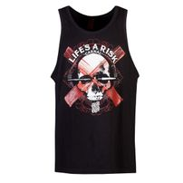 Blood In Blood Out Art Skull Tanktop Black