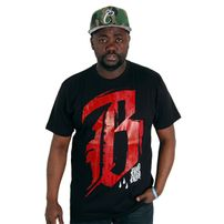Blood In Blood Out Blood Member Tee Black Red