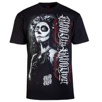 Blood In Blood Out LA Catrina Blanca Tee Black