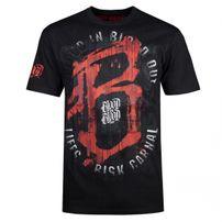 Tričko Blood In Blood Out Life's a Risk T-Shirt Black