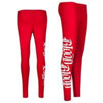 Blood In Blood Out Logo Leggings Red