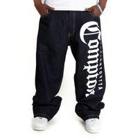 Bsat Straight Outta Compton Baggy Denim
