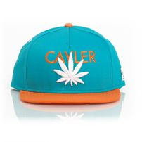 Cayler & Sons Cayler Cap Teal Orange White