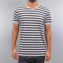 Cazzy Clang Super Stripes T-Shirt White/Black *BWARE*