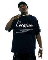 Pánské Tričko Cocaine Life Basic Large Logo Tee Black