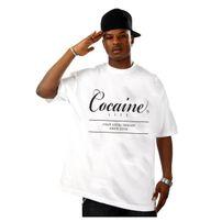 Pánské Tričko Cocaine Life Basic Large Logo Tee White