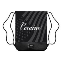 Cocaine Life Basic Logo Gym Bag Black