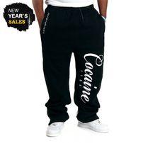 Tepláky Cocaine Life Basic Logo Sweatpants Black