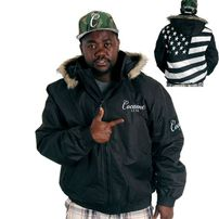 Cocaine Life Country Hunter Winter Jacket Black
