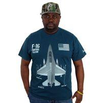 Tričko Cocaine Life F16 T-shirt Midnight Navy