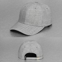 Cyprime Folding Clasp Snapback Cap Grey