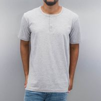 Cyprime Placket T-Shirt Grey