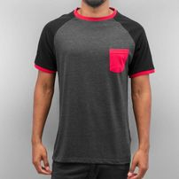Cyprime Raglan T-Shirt Grey Melange/Black