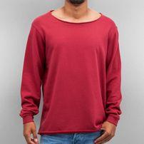 Cyprime Wide Round Neck Sweatshirt Rosewood