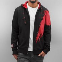 Dangerous DNGRS Azyl - Leben eines Fighters Zip Hoody Black
