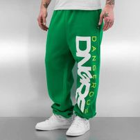 Dangerous DNGRS *B-Ware* Classic Sweat Pants Black/Green