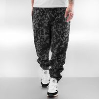 Dangerous DNGRS Basic Sweat Pants Black Camouflage
