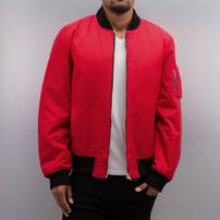 Dangerous DNGRS Classic Bomber Jacket Red