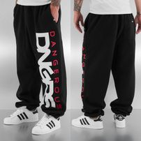 Dangerous DNGRS Classic Sweat Pants Black/Red