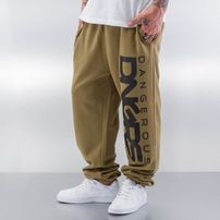 Dangerous DNGRS Classic Sweat Pants Olive/Black