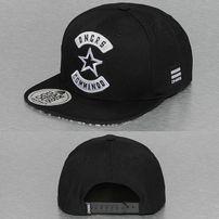 Dangerous DNGRS Commando Snapback Cap Black