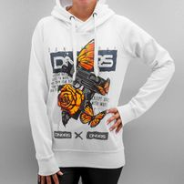 Dangerous DNGRS Creepy Animals Hoody White