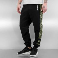 Dangerous DNGRS Jack Sweat Pants Black/Camo