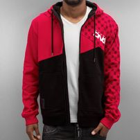 Dangerous DNGRS Limited Edition Zip Hoody Chinese Red/Black