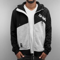 Dangerous DNGRS Limited Edition Zip Hoody Light Grey Melange/Black