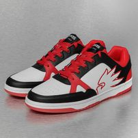 Dangerous DNGRS Logo Sneakers White/Black/Red