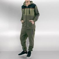 Dangerous DNGRS Marne Sweat Suit Olive