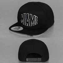 Dangerous DNGRS Miami Snapback Cap Black