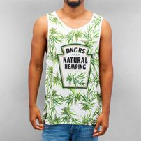 Dangerous DNGRS Natural Hemping Tank Top White