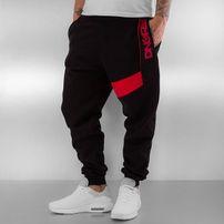 Dangerous DNGRS New Pockets Sweatpants Black/Red