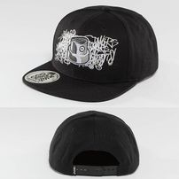 Dangerous DNGRS Skinny Snapback Cap Black/White