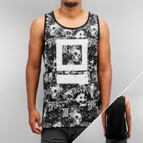 Dangerous DNGRS Skull Tank Top Black