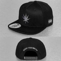 Dangerous DNGRS Smoke Weed Snapback Cap Black