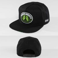 Dangerous DNGRS / Snapback Cap Green Breath in black