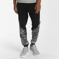 Dangerous DNGRS / Sweat Pant Trainz in black