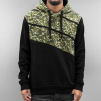 Dangerous DNGRS Three Colour Hoody Jet Black/Camouflage