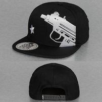 Dangerous DNGRS Uzi Snapback Cap Black