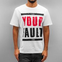 Dangerous DNGRS Your Fault T-Shirt White