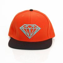 Diamond Supply Co Brilliant Orange Black Diamond Blue