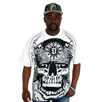 Dyse One Skully Tee White