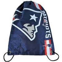 Forever Collectibles NFL Cropped Logo Gym Bag Patriots