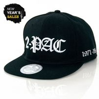 GangstaGroup 2-PAC In Memoriam Snapback Black