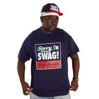 GangstaGroup Sorry I`m Swag! Tee Navy