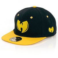GangstaGroup WTC Snapback Cap Black Yellow