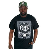 Joker Brand Card Tee Black