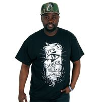 Joker Brand World Tee Black